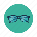 eye glasses, glasses, specs, spectacles, wayfarer icon