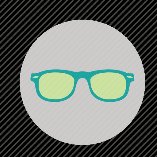 glasses, specs, spectacles icon