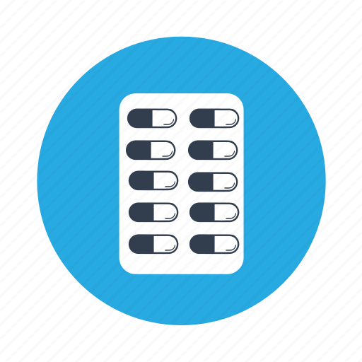 capsule, healthcare, medical, pills, strip, tablet icon
