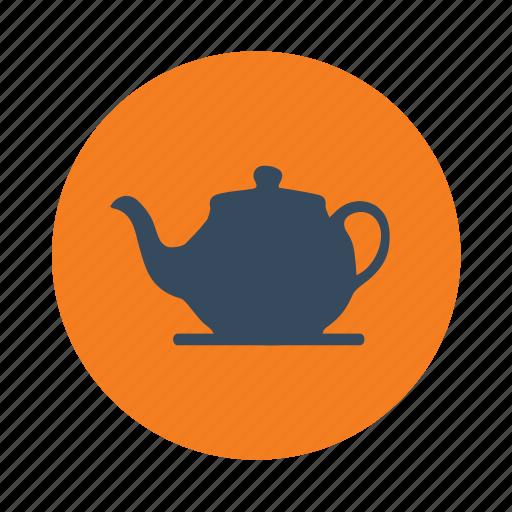 cafe, drink, tea, teapot icon