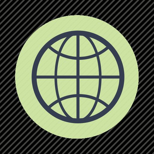 address, globe, internet, web, website, world, www icon