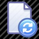 file, document, sync, synchronize