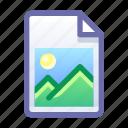 file, document, image, photo