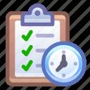 clipboard, to, do, task, list, deadline
