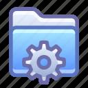 folder, settings, options