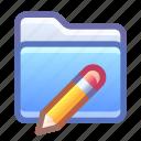 folder, edit, rename