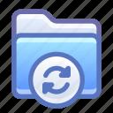 folder, sync, synchronize