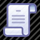 script, log