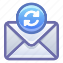 email, mail, sync, synchronize