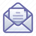email, mail, letter, open