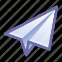 paper, plane, send, message