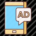 advertising, influencer, marketing icon
