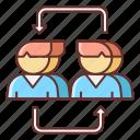 engagement, influencer, marketing icon