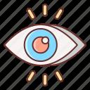 eye, marketing, views icon