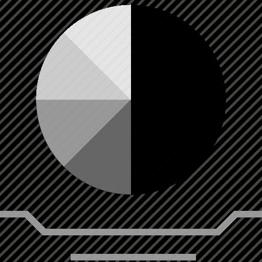 chart, clicks, graphic, web icon