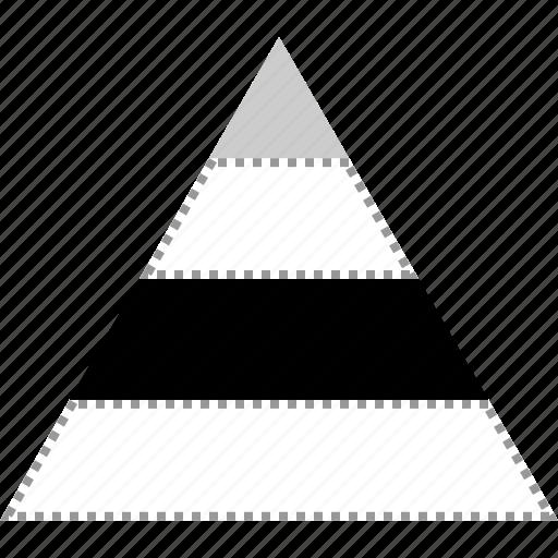 market, marketing, pyramid, seo icon