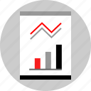 chart, graphic, seo, web icon