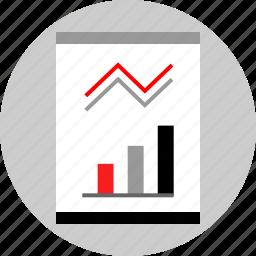 chart, graphic, seo, web icon
