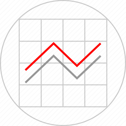 chart, diagram, web icon