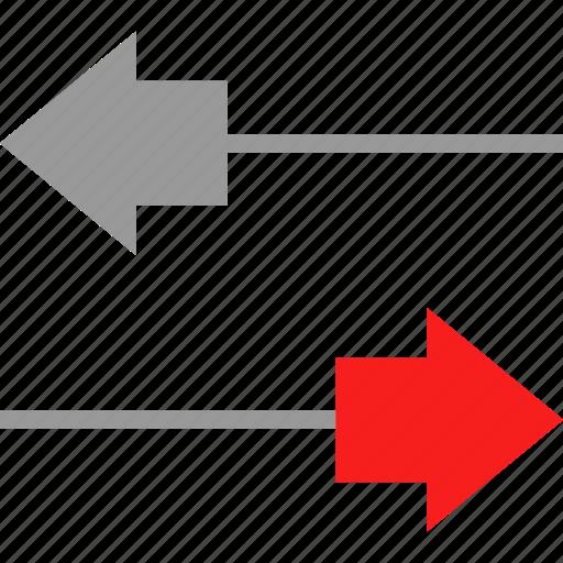 activity, arrows, information, send icon