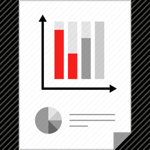 data, market, marketing, page icon