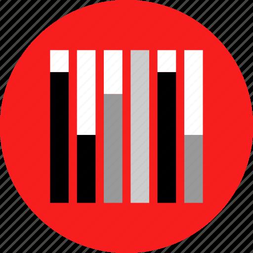 bars, data, diagrams, music icon