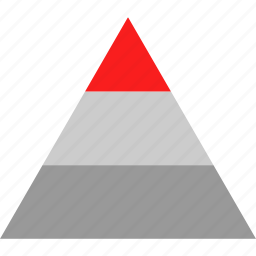 graphic, pyramid, seo, web icon