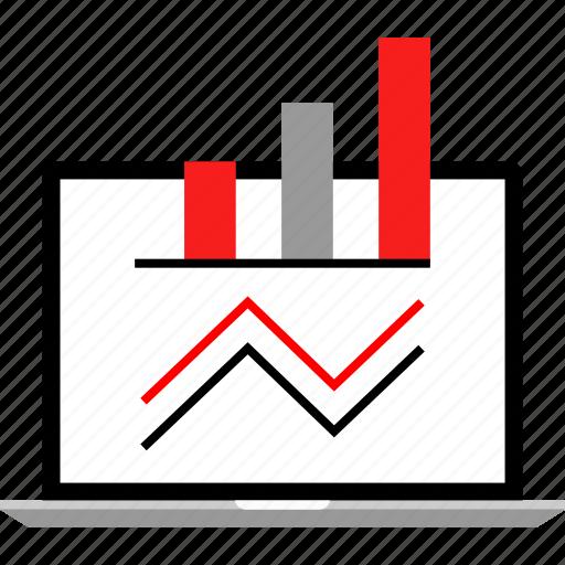 analytics, chart, diagram, web icon