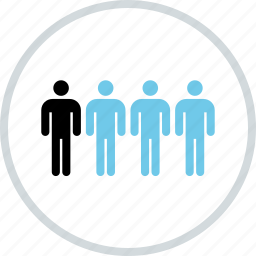 data, four, info, information, users icon
