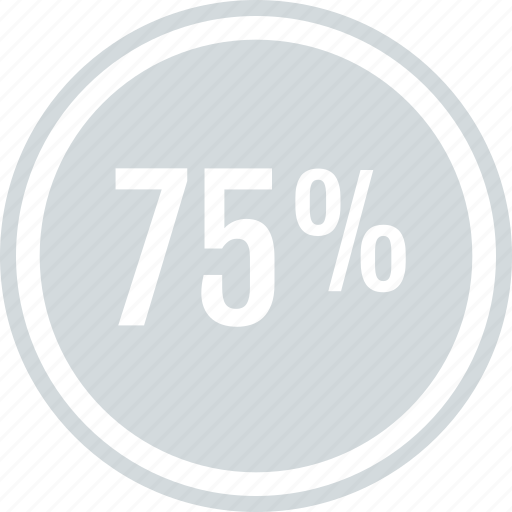 Off, percent, save, savings, seventyfive, guardar icon - Download on Iconfinder