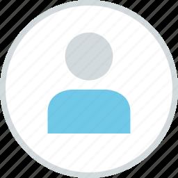 avatar, man, profile, single, user icon