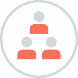 data, information, three, users icon
