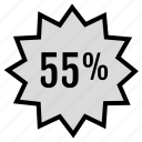 data, fifty, five, infographic, seo, tag, web icon