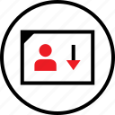 data, infographic, low, sales, seo, uer, web icon