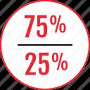 comparison, info, information, interest, rate icon