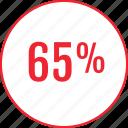 interest, percent, save, savings, sixtyfive icon