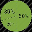 analytics, trends, infographic, business icon