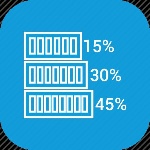 bar, business, chart, presentation, statistics icon