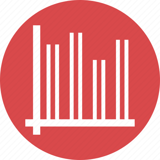 bars, data, graphic, info icon