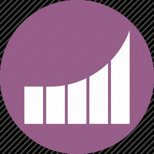 bars, graph, poll icon