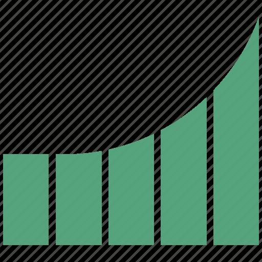 bar, bar chart, business, chart, graph, growth chart, infographic icon