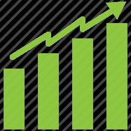 bar, chart, increase icon