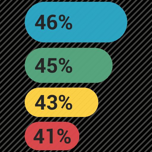 analytics, bar, chart, financial revenue, graph, growth icon
