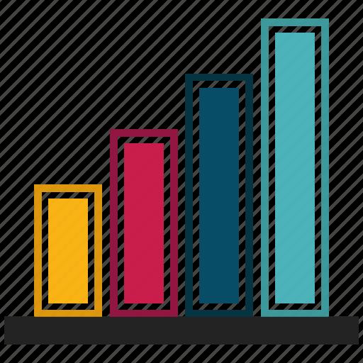 chart, graph, revenue growth icon