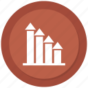 analytics, business, infographic, trends icon