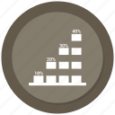 bar, business, chart, growth bar, infographic, statistic
