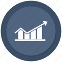 bar, business, chart, growth bar, infographic, statistic icon