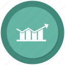 business, chart, growth bar, infographic