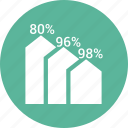 analytics, arrow, bar, chart, increase icon