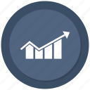 analytics, graph, line graph, presentation icon